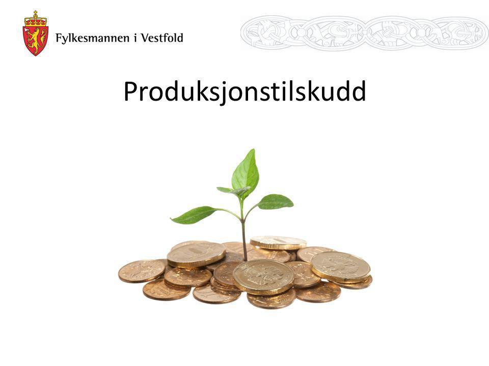 Produksjonstilskudd