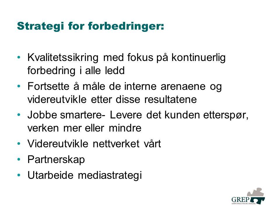 Strategi for forbedringer:
