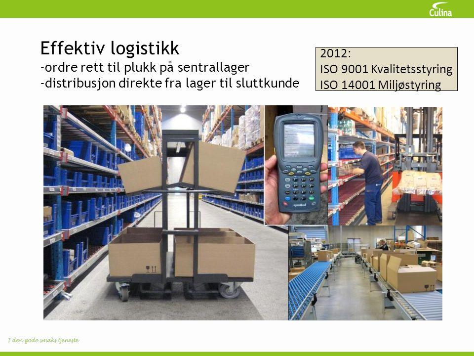 Effektiv logistikk 2012: ordre rett til plukk på sentrallager