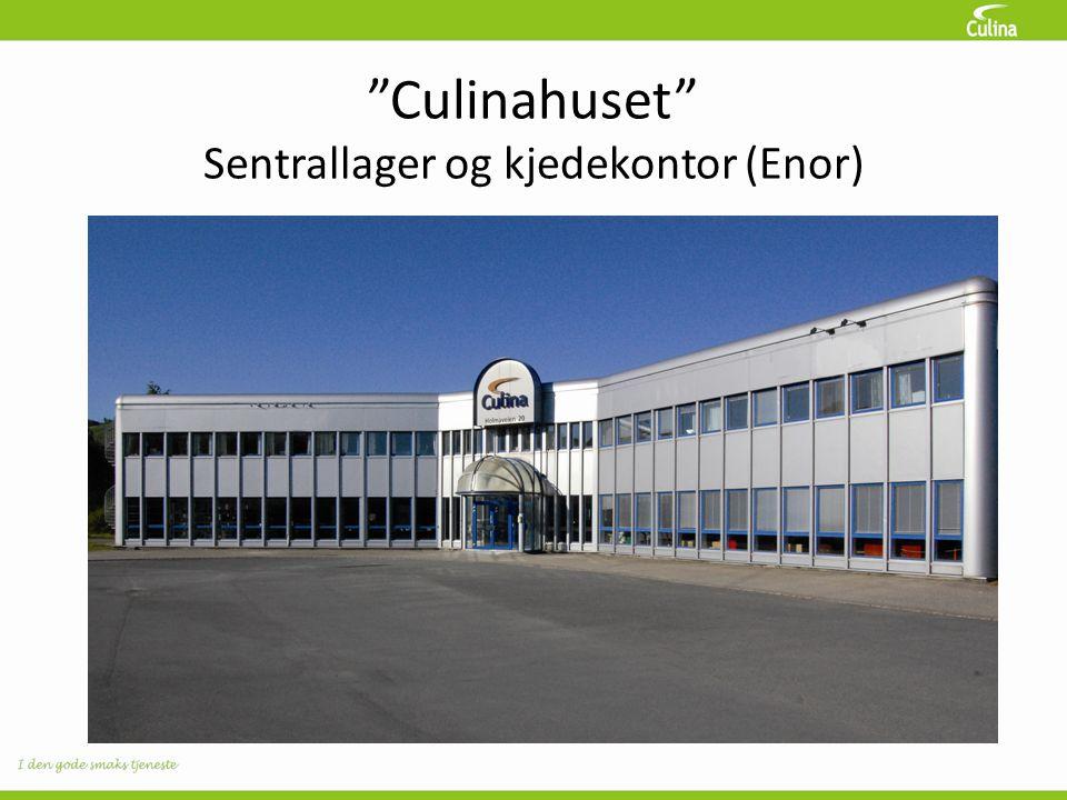 Culinahuset Sentrallager og kjedekontor (Enor)