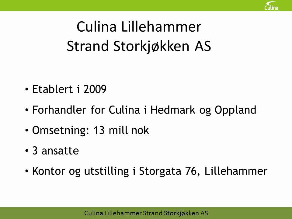 Culina Lillehammer Strand Storkjøkken AS