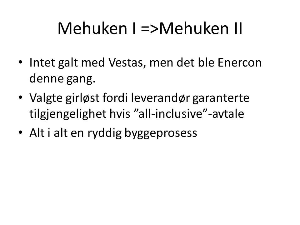 Mehuken I =>Mehuken II