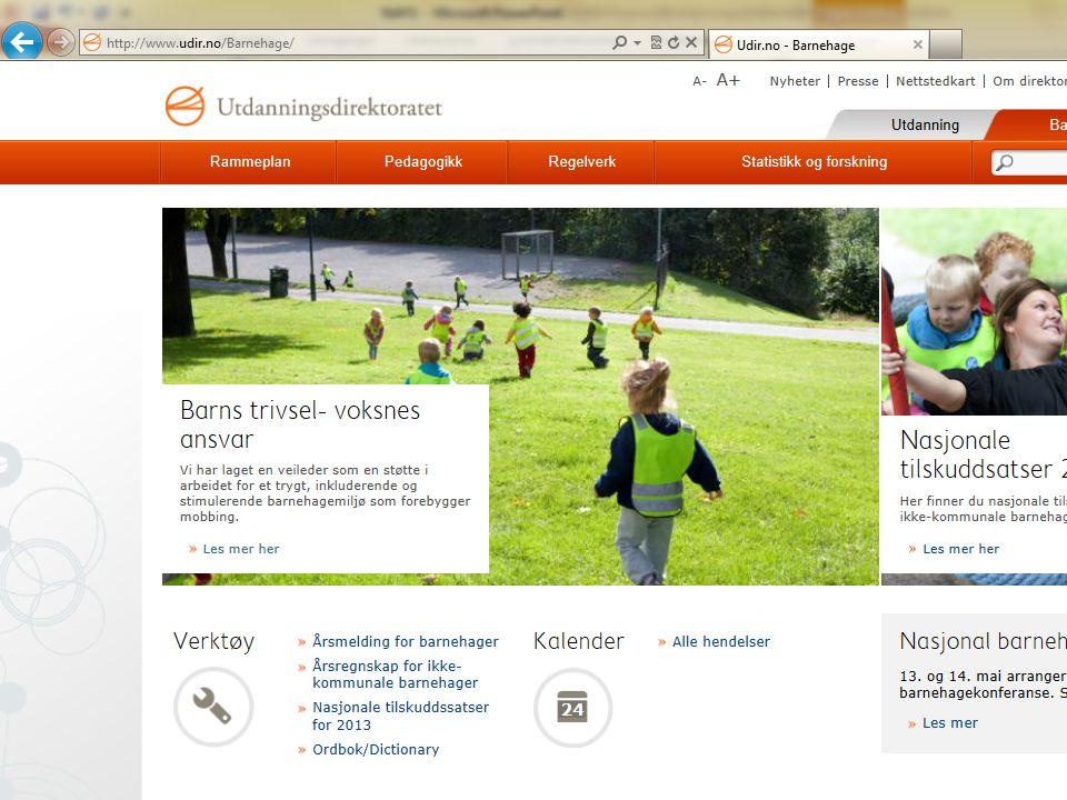 www.udir.no/barnehage