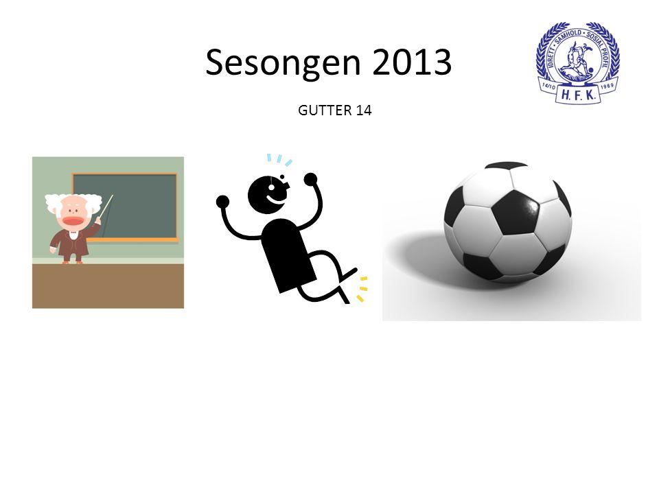 Sesongen 2013 GUTTER 14