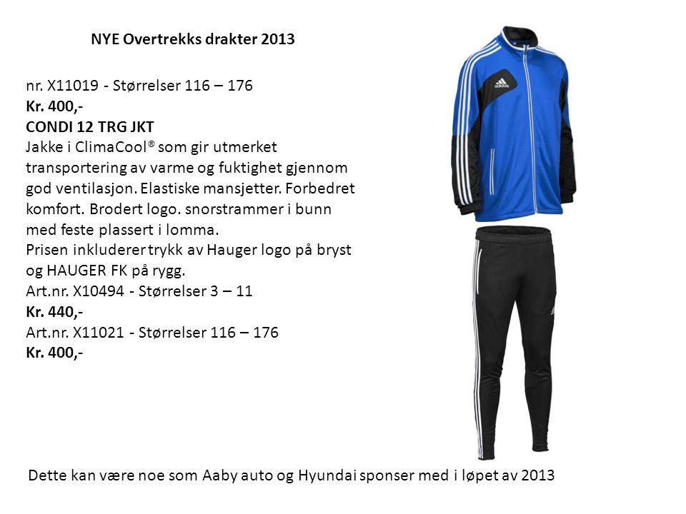 NYE Overtrekks drakter 2013