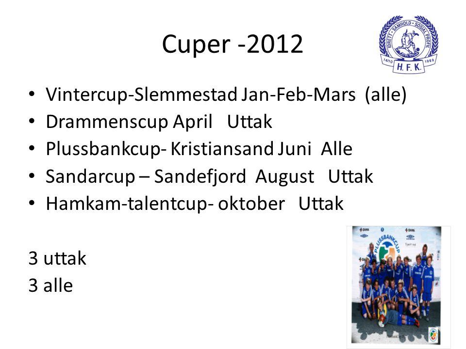 Cuper -2012 Vintercup-Slemmestad Jan-Feb-Mars (alle)