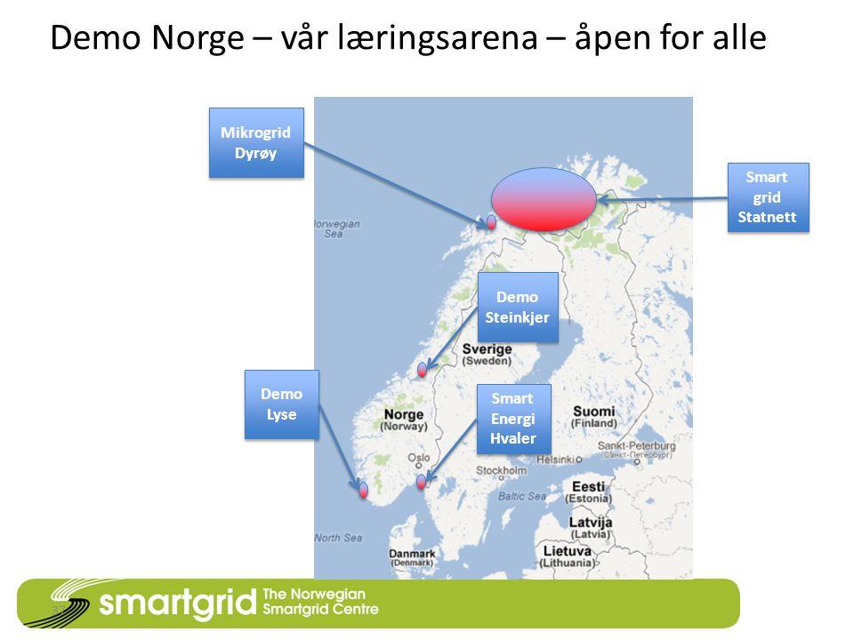 Demo Norge – vår læringsarena – åpen for alle