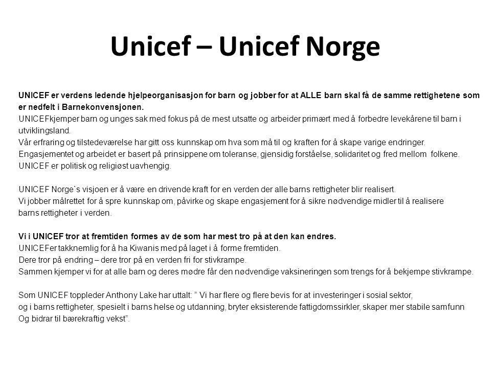 Unicef – Unicef Norge