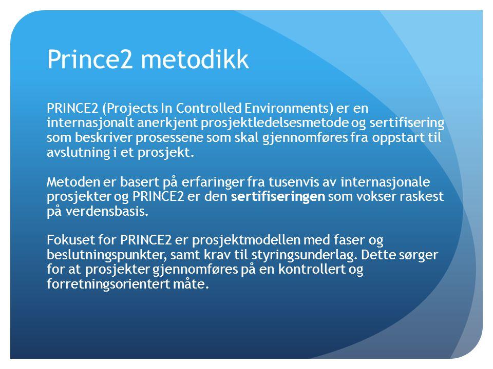 Prince2 metodikk