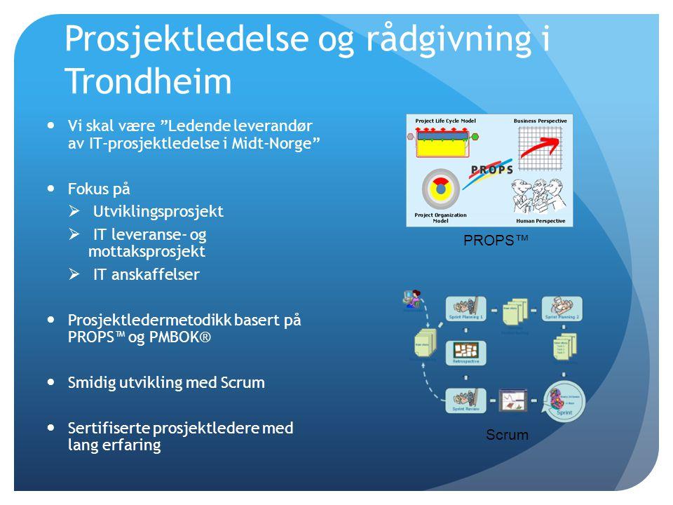 Prosjektledelse og rådgivning i Trondheim