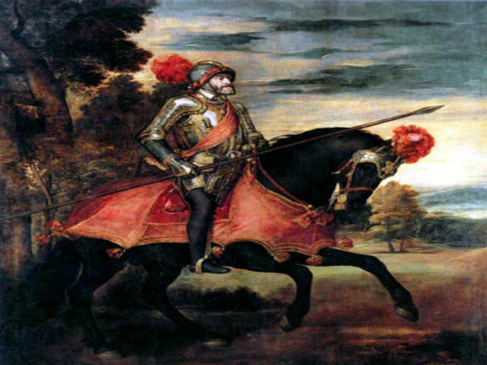 Religionskriger I 1519 overtok Karl V av Spania som tysk keiser