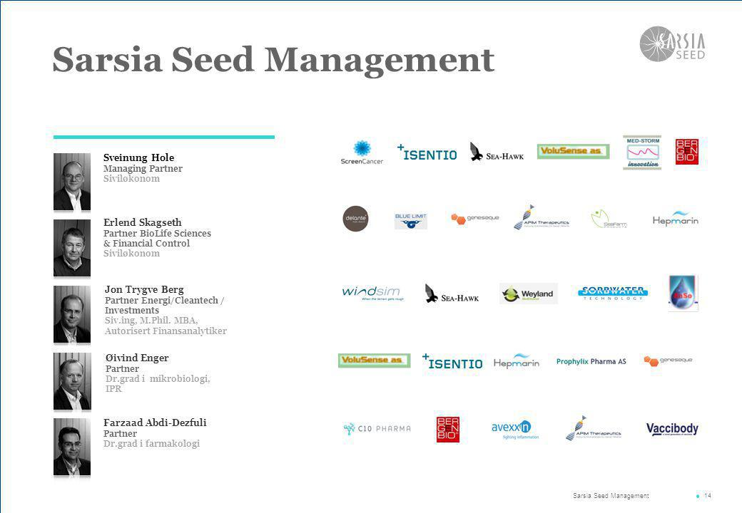 Sarsia Seed Management