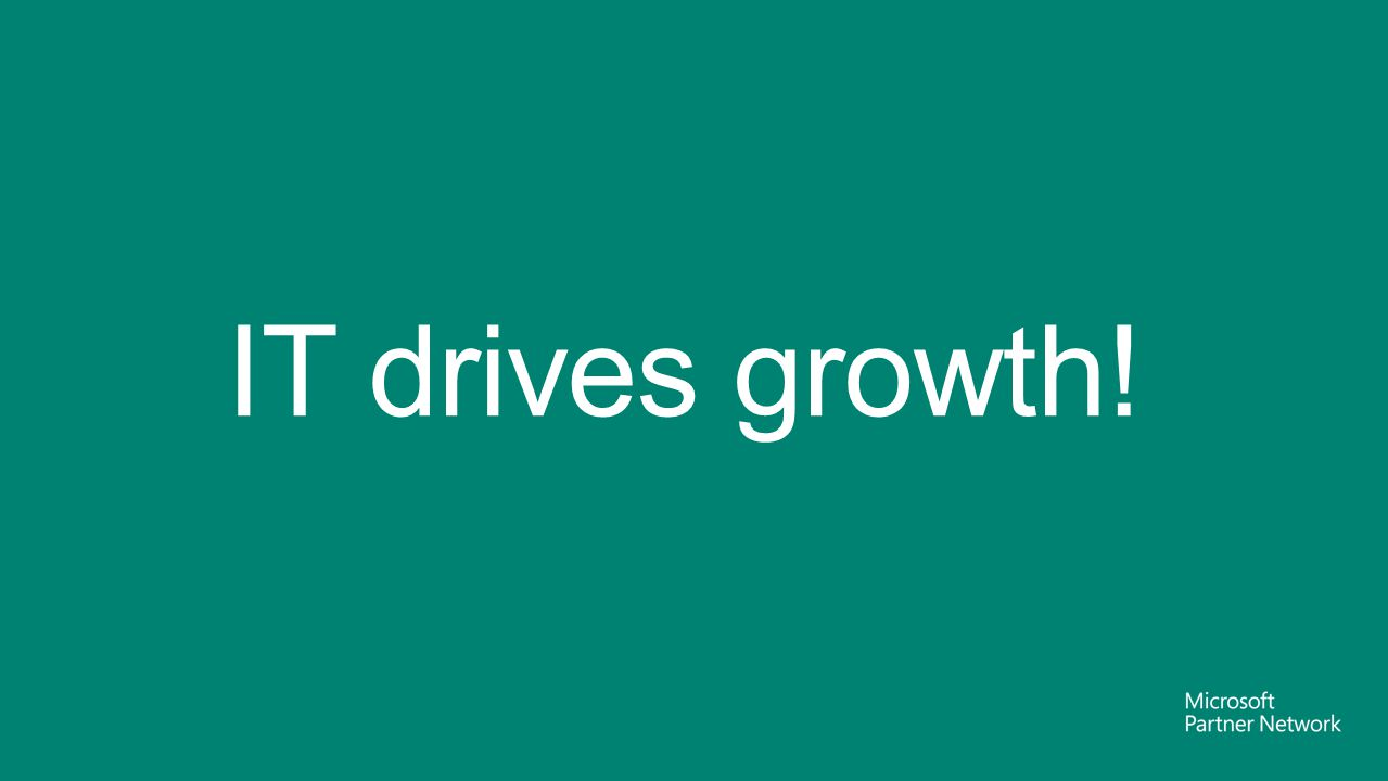 IT drives growth! Marco Iansiti, Harvard Business School 2006