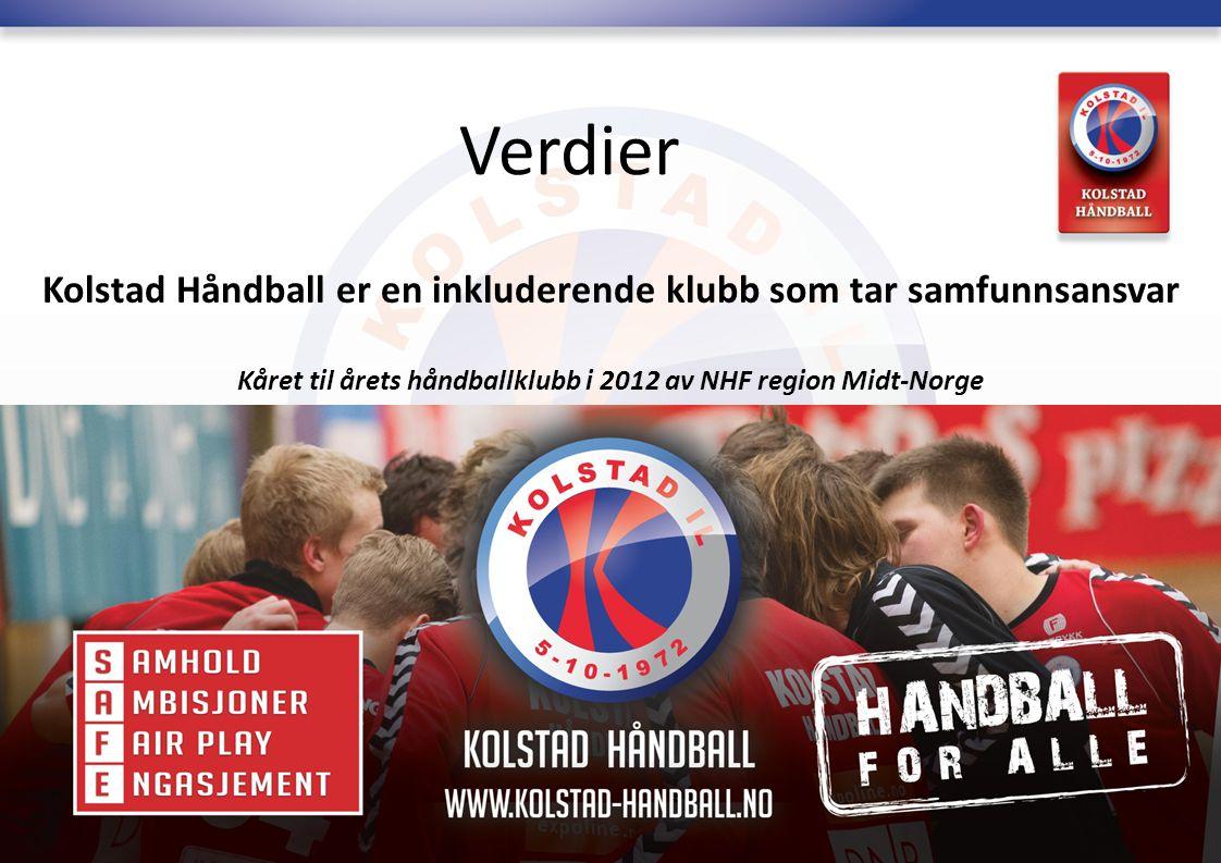 Verdier Kolstad Håndball er en inkluderende klubb som tar samfunnsansvar.