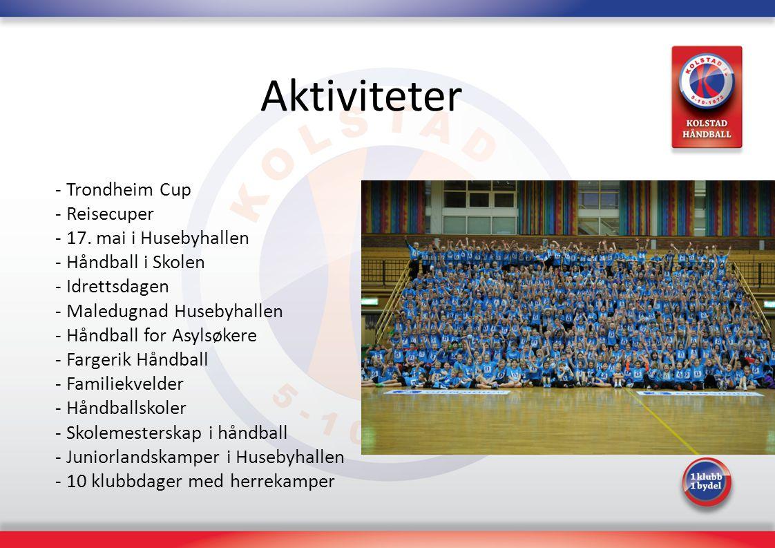 Aktiviteter - Trondheim Cup - Reisecuper - 17. mai i Husebyhallen