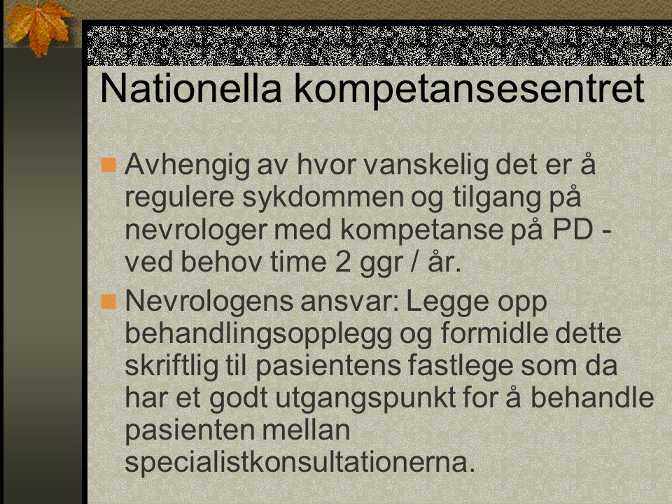 Nationella kompetansesentret