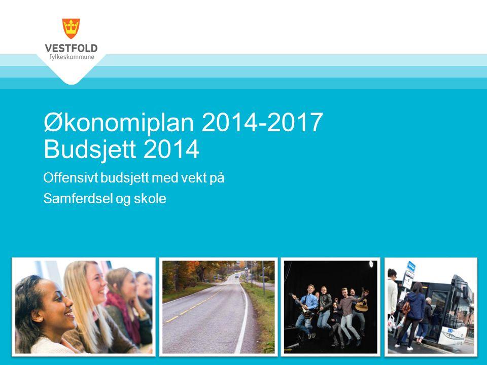 Økonomiplan 2014-2017 Budsjett 2014