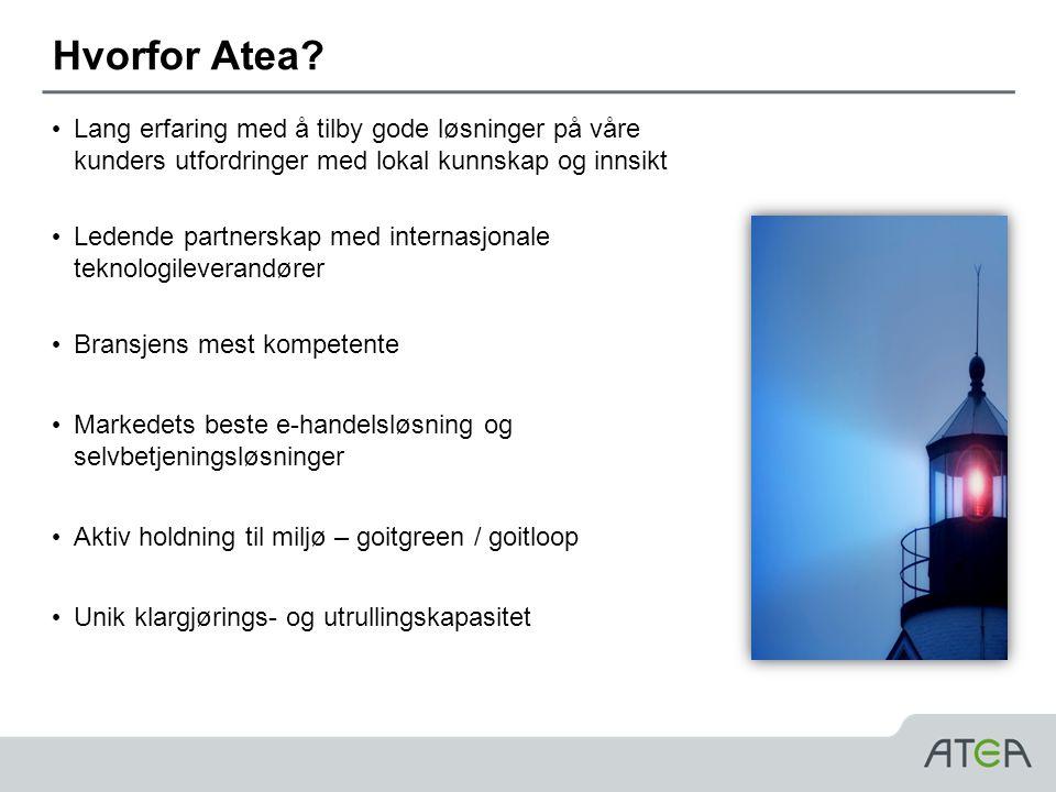 Hvorfor Atea Lang erfaring med å tilby gode løsninger på våre kunders utfordringer med lokal kunnskap og innsikt.