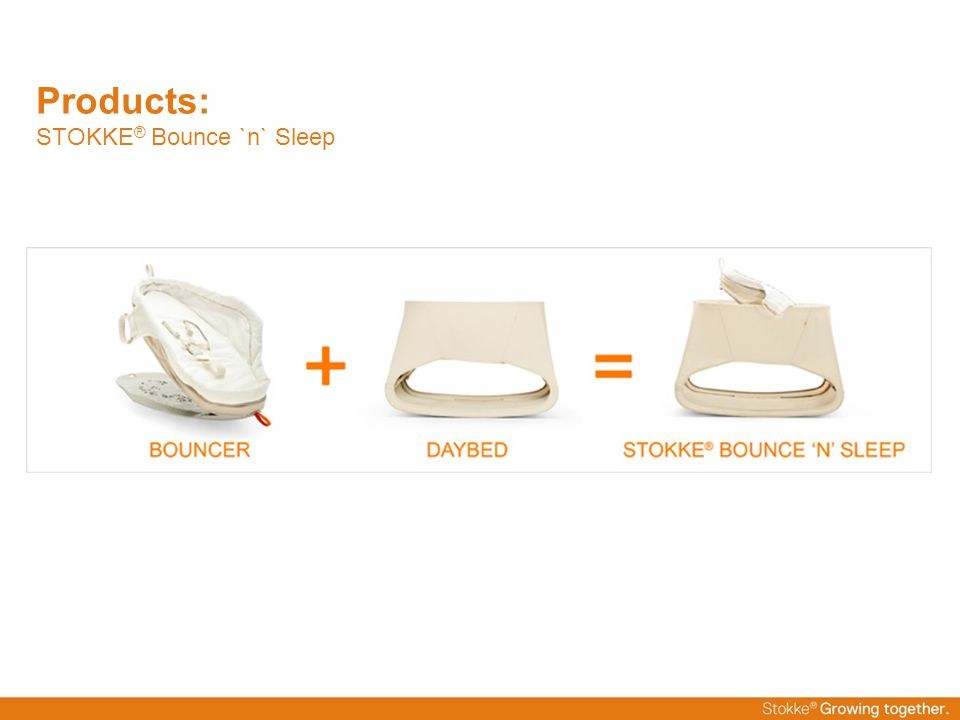 Products: STOKKE® Bounce `n` Sleep
