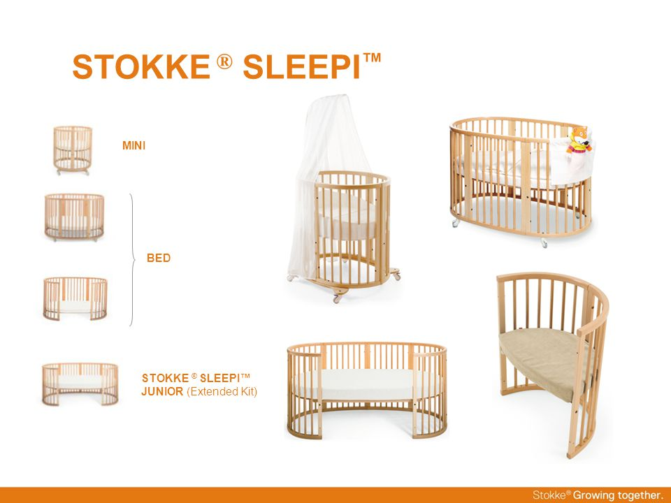 STOKKE ® SLEEPI™ MINI BED STOKKE ® SLEEPI™ JUNIOR (Extended Kit)
