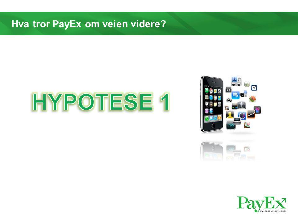 Hva tror PayEx om veien videre