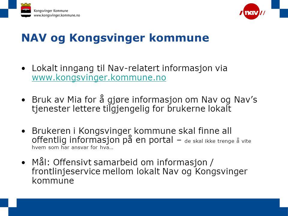NAV og Kongsvinger kommune