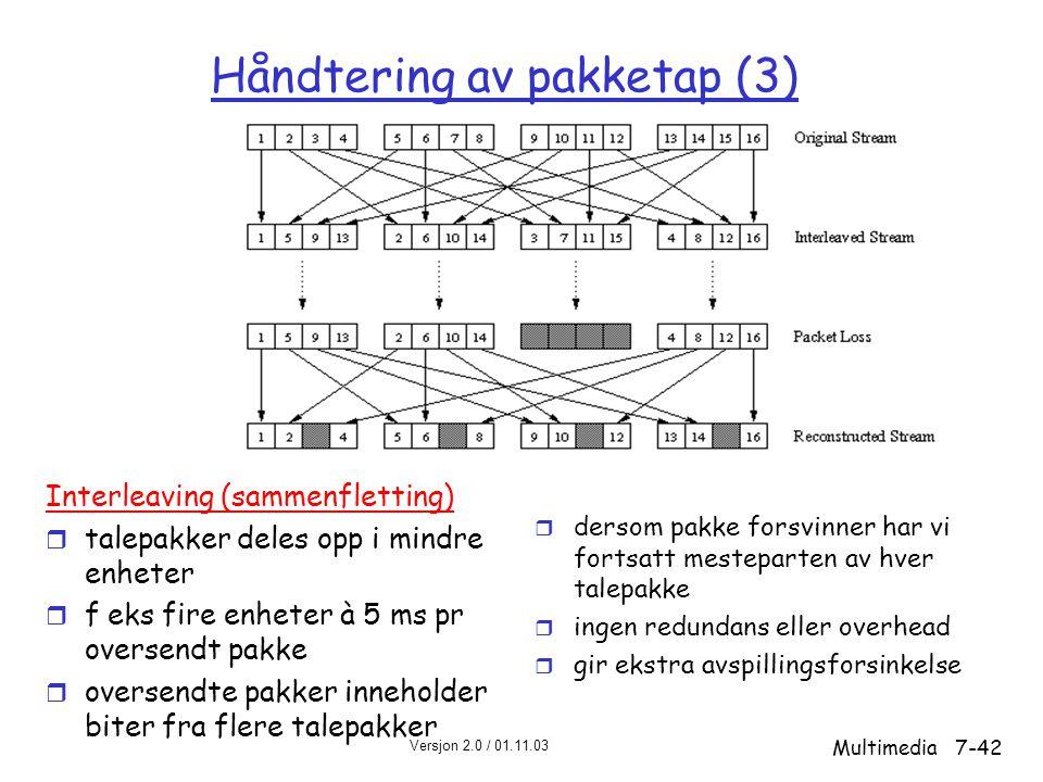 Håndtering av pakketap (3)