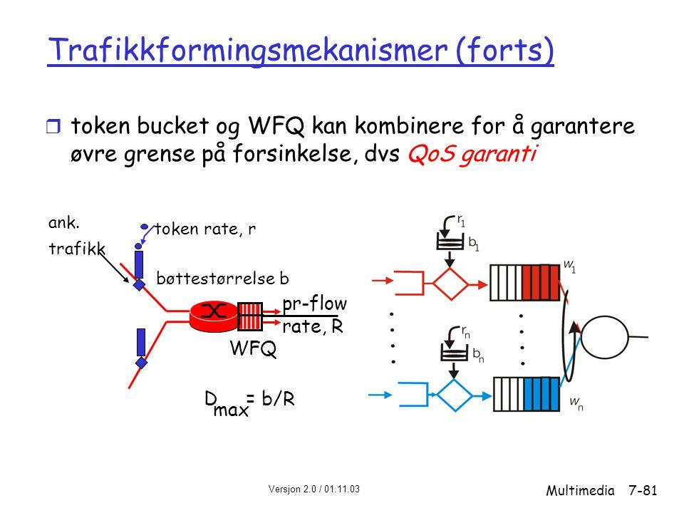 Trafikkformingsmekanismer (forts)