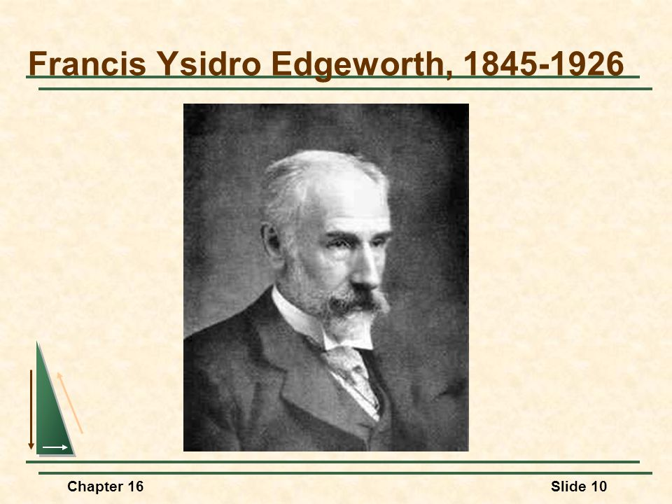 Francis Ysidro Edgeworth, 1845-1926