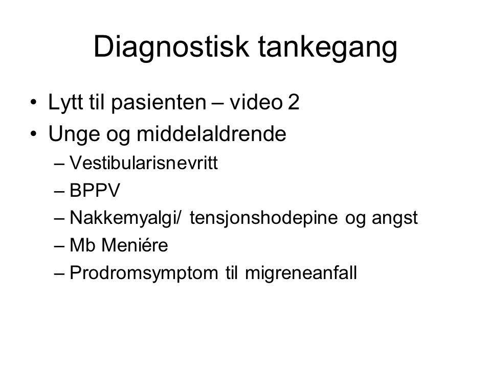 Diagnostisk tankegang