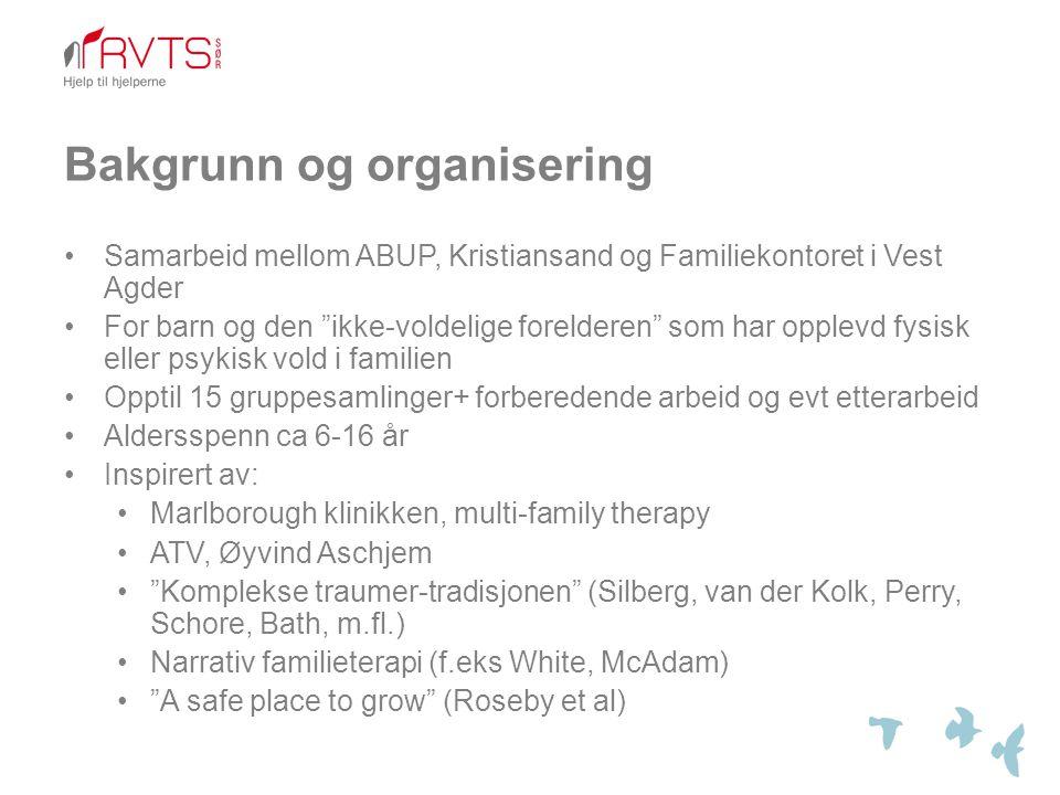 Bakgrunn og organisering