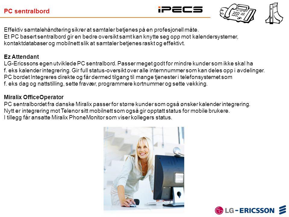 PC sentralbord