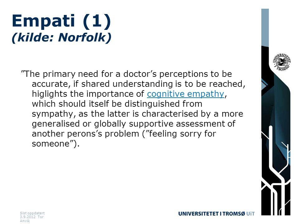 Empati (1) (kilde: Norfolk)