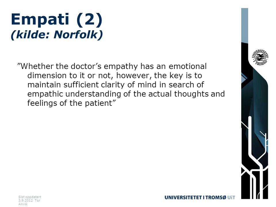 Empati (2) (kilde: Norfolk)