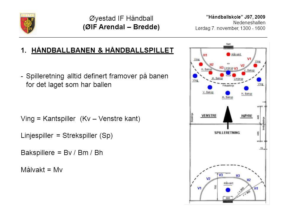 HÅNDBALLBANEN & HÅNDBALLSPILLET