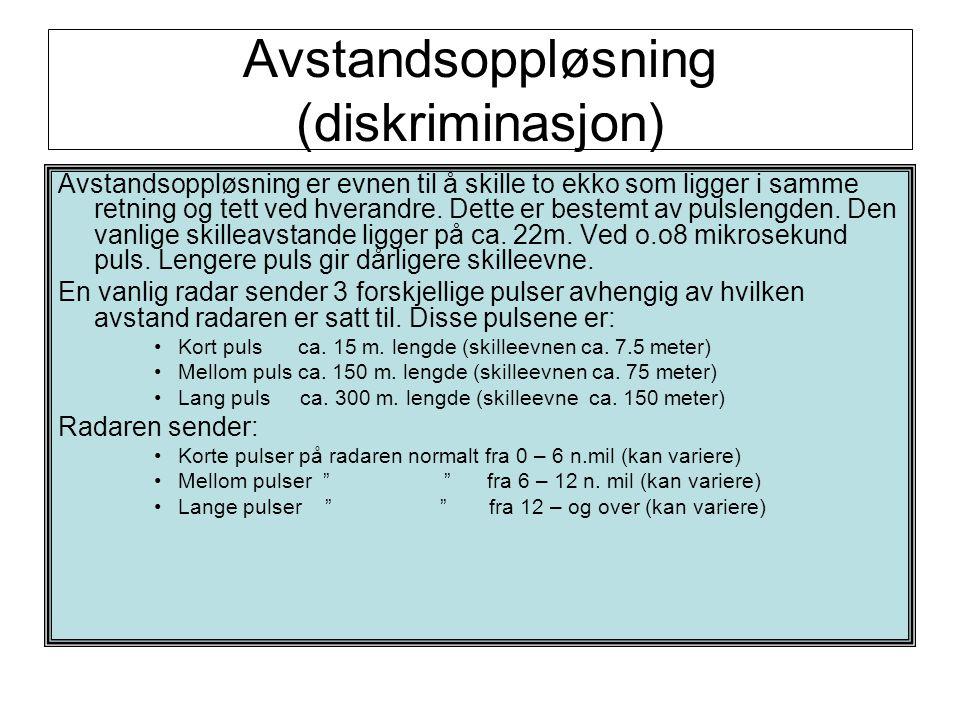 Avstandsoppløsning (diskriminasjon)