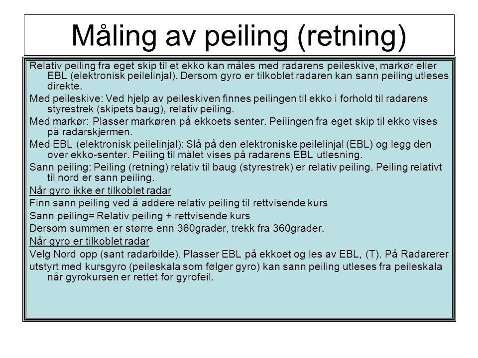 Måling av peiling (retning)