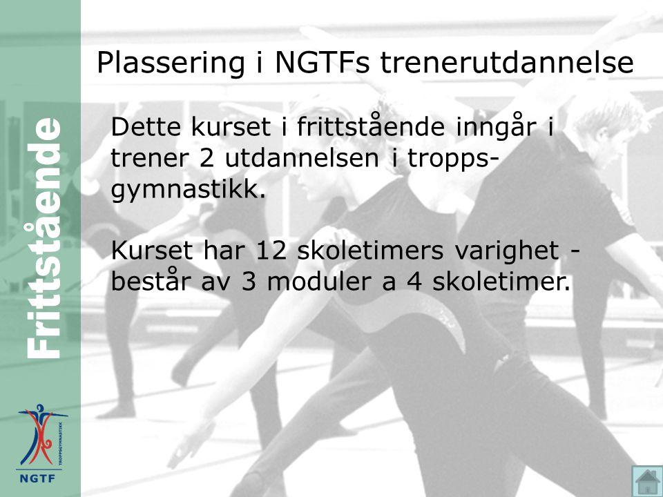 Plassering i NGTFs trenerutdannelse