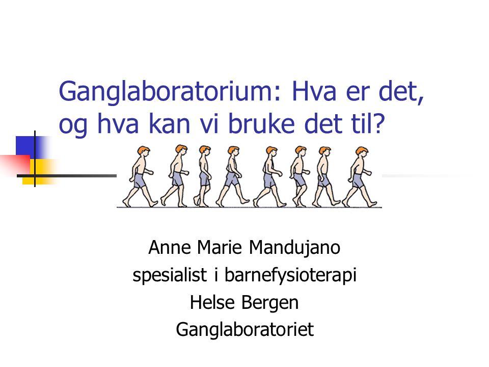 Ganglaboratorium: Hva er det, og hva kan vi bruke det til