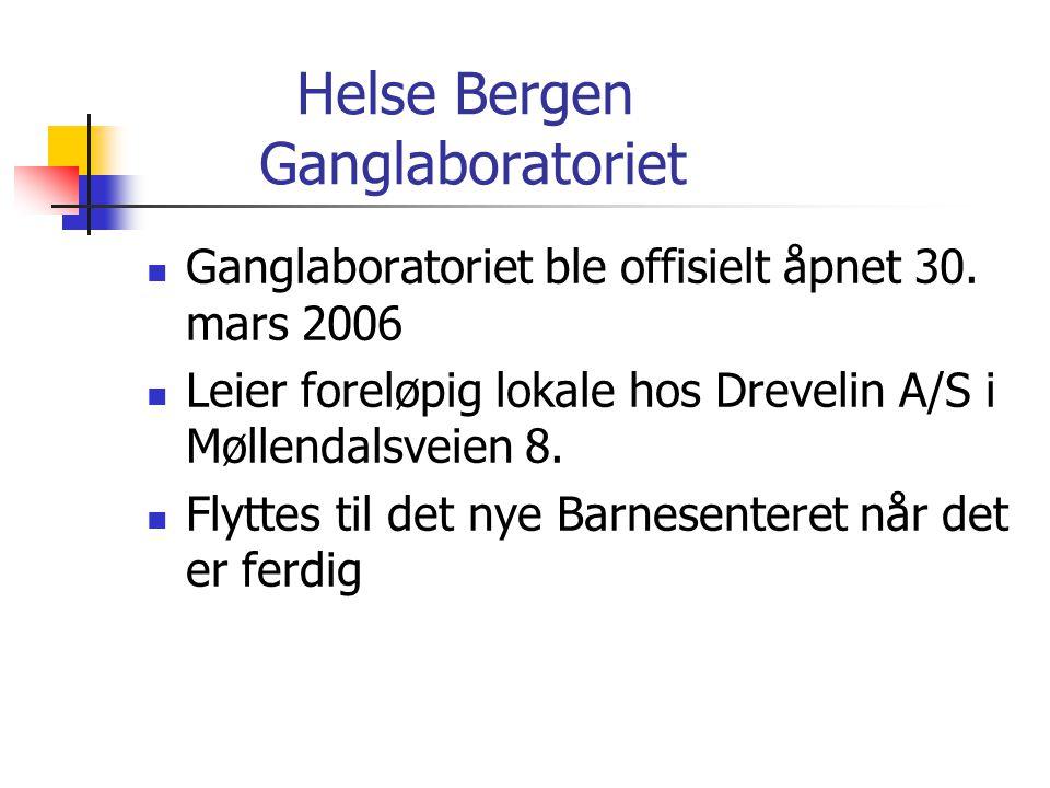 Helse Bergen Ganglaboratoriet