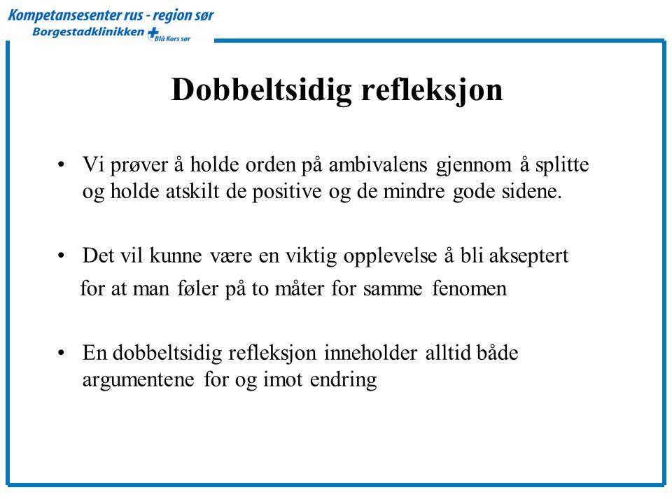 Dobbeltsidig refleksjon