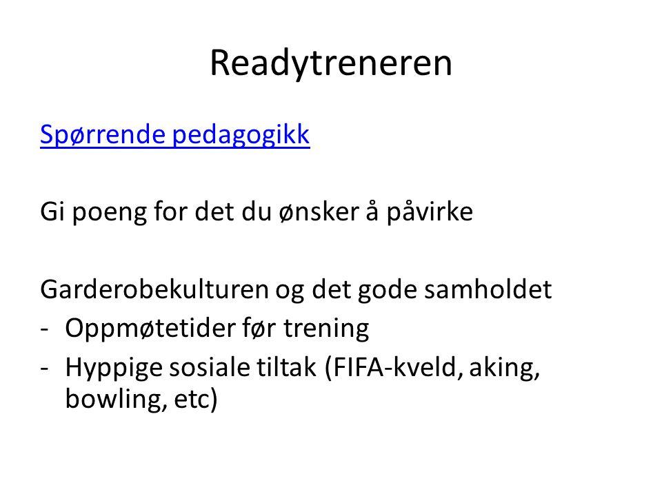 Readytreneren Spørrende pedagogikk