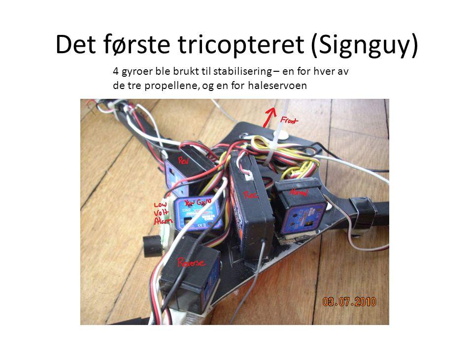 Det første tricopteret (Signguy)