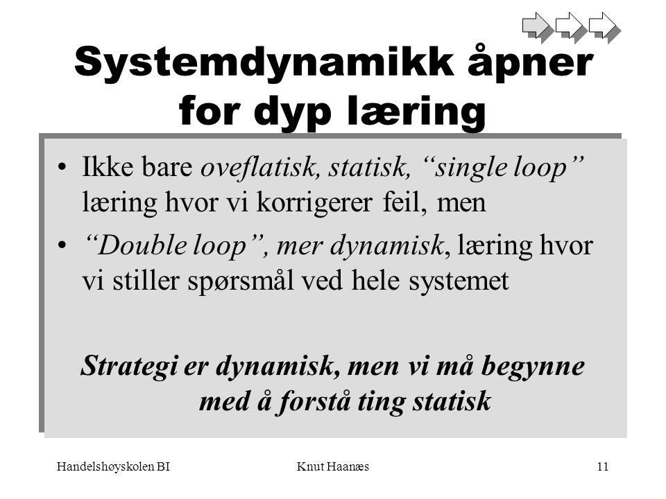 Systemdynamikk åpner for dyp læring