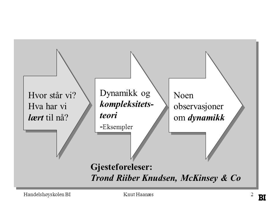 Trond Riiber Knudsen, McKinsey & Co