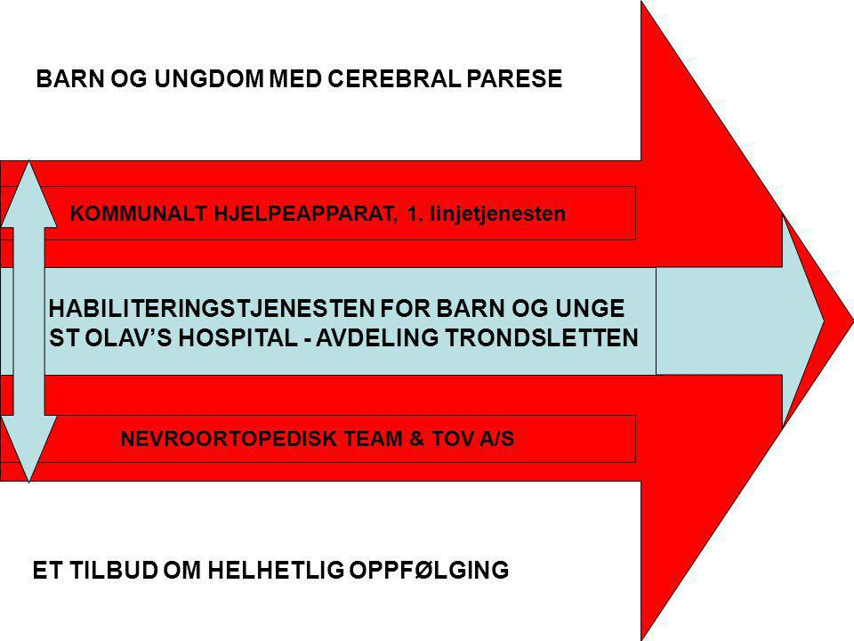 HABILITERINGSTJENESTEN FOR BARN OG UNGE