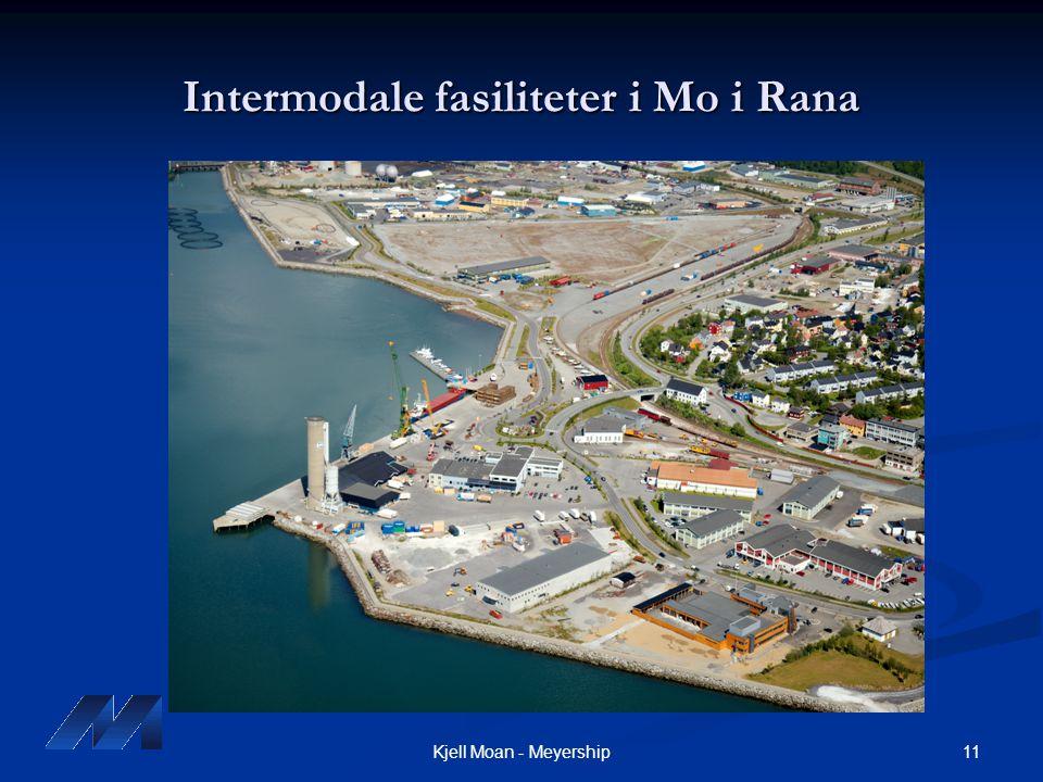 Intermodale fasiliteter i Mo i Rana