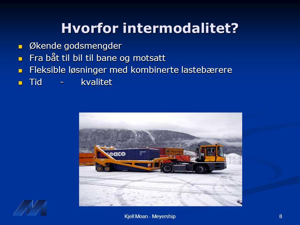 Hvorfor intermodalitet