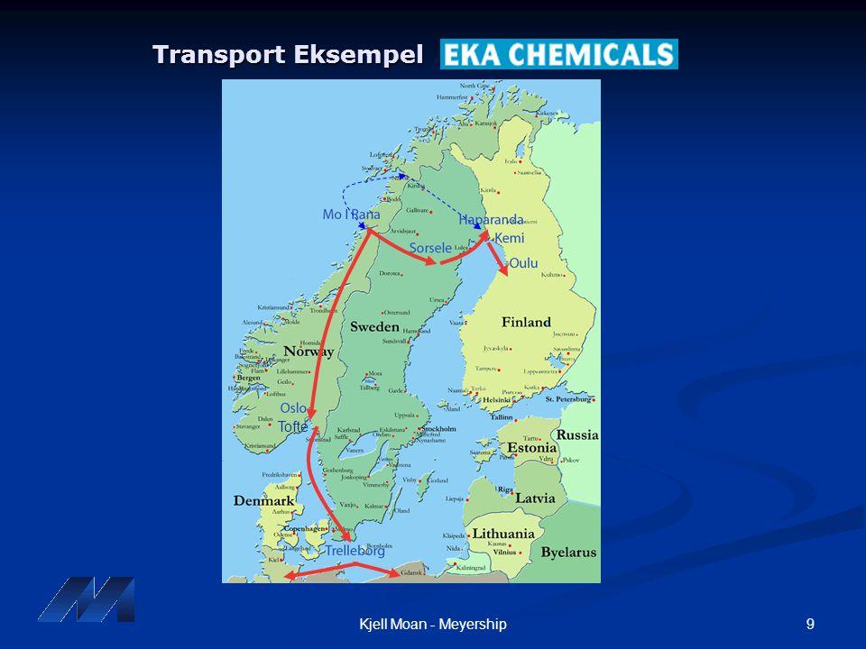 Transport Eksempel Tofte Kjell Moan - Meyership