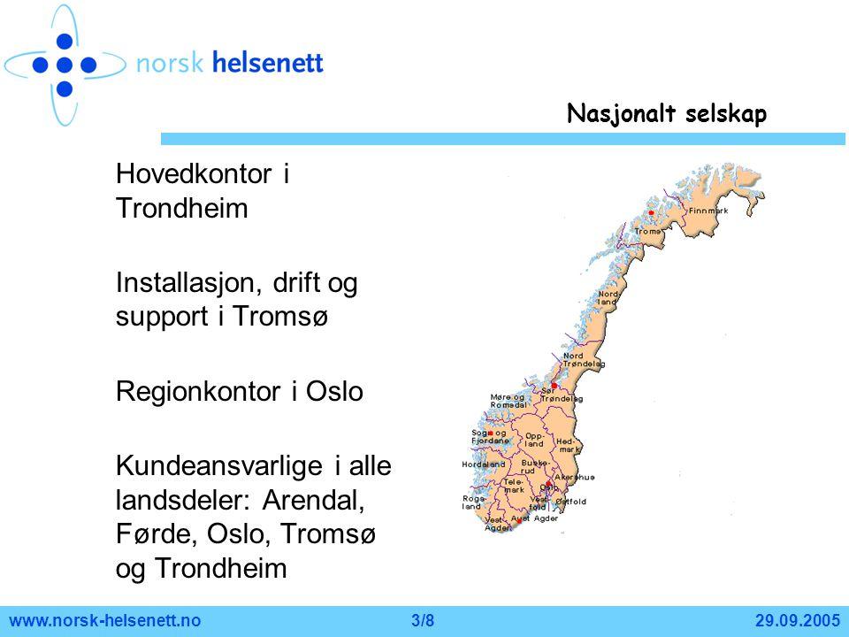 Hovedkontor i Trondheim
